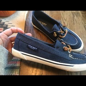 Sperry top sider- blue jean denim color